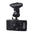 "LuLang 2.7"" TFT LCD 5.0 MP CMOS HD 1080P Wide Angle Car DVR Camcorder w/ 4-IR LED - Black + Sliver"