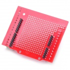 Robotale Proto Screw Shield Assembled for Arduino - Red