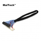 MaiTech Belt Buckle FIX30 Needle Dual 8 LCD Cable / 17-inch to 24-inch Universal LCD Cable - Black