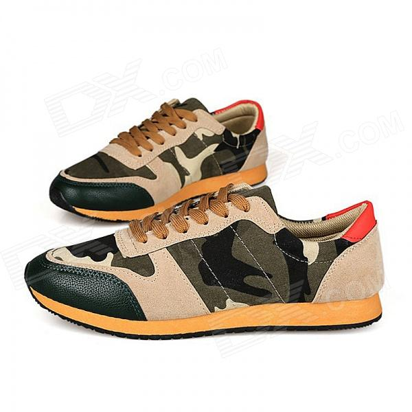 Canvas Shoes for Men - AT Camouflage (Size 43)