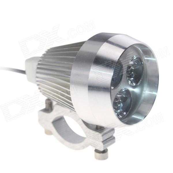 Waterproof DIY 15W 450lm 3-LED Motorcycle / E-Bike White Light Headlamp / Spotlight - (12~80V) наклейки new style 100mmx1520mm diy
