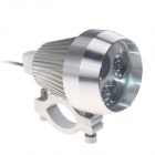 Waterproof DIY 15W 450lm 3-LED Motorcycle / E-Bike White Light Headlamp / Spotlight - (12~80V)