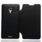 KALAIDENG Protective PU Leather Case for HUAWEI Ascend Mate 2 - Black