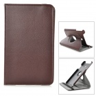 Lychee Grain Style 360 Degree Rotation PU Leather Case for Asus VivoTab Note 8/M80TA - Brown