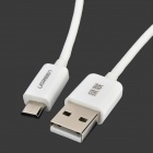 Green Connection USB 2.0 to Micro USB Charging/Data Cable for Samsung / HTC / Huawei (100cm)