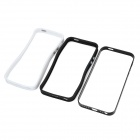 LIT Ultra-thin 0.7mm Aluminum + Silicone Bumper Case w/ Screen Protector for IPHONE 5 / 5S