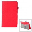 Stylish Flip Open PU Case w/ Hand Strap Holder / Card Slots for 8.4'' Samsung Galaxy Tab Pro T320