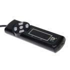 DILONG 1.5 Inch LCD Display USB Charge Timer for Cellphone / IPAD / Power Bank - Black