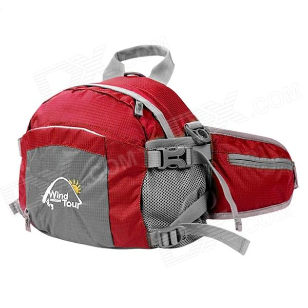 Wind Tour WTXKYB 4-in-1 Outdoor Travel One-Shoulder / Waist / Backpack Bag - Red (20L) gps навигатор bushnell backtrack d tour red