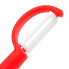 TCD-35 Convenient Zirconia Ceramics Peeler Scraper - Red