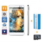 "THL T200 Octa-core Android 4.2 WCDMA Bar Phone w/ 6"" IPS, Wi-Fi, GPS, RAM 2GB and ROM 32GB - White"