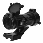 1X 30mm Tactical Red/Green Dot Laser Sight Scope - Black