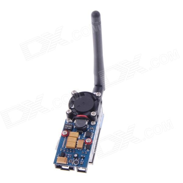 TS352 5.8G Wireless Transmitter for FPV - Black + Blue free shippin ts352 5 8g 500mw video audio transmitter 4km for 5 8ghz rx 28dbm fpv ts 352