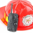 Fireman Cosplay Play House Toys Set - красный + черный