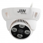 JIN JN-3463FM Indoor 4-Array IR-CUT800 HD CMOS-Überwachungskamera - Weiß