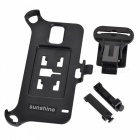 Car Mount Mini ABS Air Outlet Holder + Clip for Samsung Galaxy S5 - Black