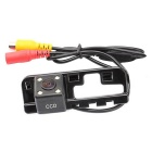 F-130 Waterproof Wired CMOS Rearview Camera for HONDA 2012 CIVIC / 08 ACCORD - Black + Transparent