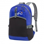 WindTour WTZDB1 Convenient Outdoor Folding Chinlon Backpack - Blue + Black (22L)