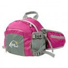 Wind Tour WTXKYB Outdoor Travel 4-in-1 One-Shoulder / Waist / Backpack Bag - Deep Pink
