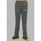 Wind Tour Outdoor Windproof Warm Mountaineer Long Pants for Men - Grey (Size XXL)