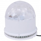 NEW-D19 Sound Activated 5W 48-LED RGB Crystal Magic / Sunflower light - White