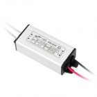 9W~12W Water Resistant Constant Current LED Driver - Black + Silver (AC 110~265V)