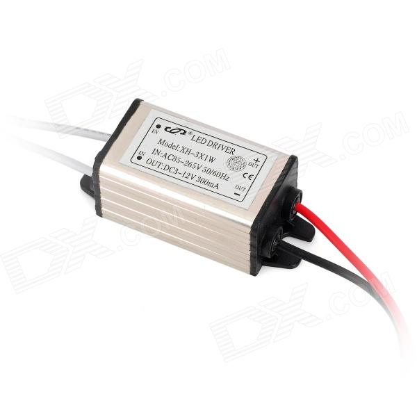 3W External Water Resistant LED Driver for Ceiling Lamp (AC 85~265V)