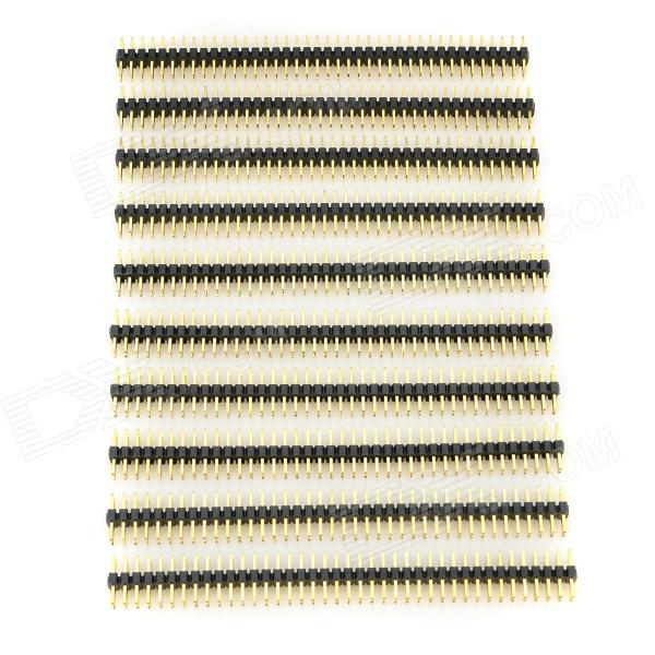 LSON 2,0 mm 2 x 40 Pin Header - nero + oro (10 pz)