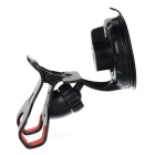 Car Windshield Clip-Type Mount Holder for IPHONE 5 / 4S / 3GS / IPAD / GPS / Samsung / HTC - Black