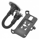 360 Degree Rotary Car Mount Holder w/ Suction Cup for Samsung Galaxy S5 - Black