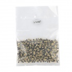LSON Gold-plated Copper PCB Test Points - Golden + Black (1000 PCS)