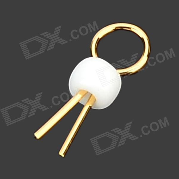 LSON Gold-Plated Copper PCB Test Points - Golden + White (1000 PCS)