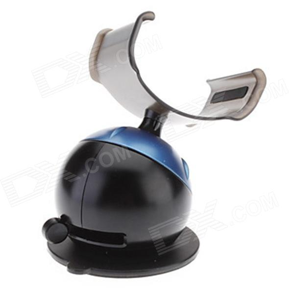 Kinston Unique Adjustable Suction Cup Holder Stand for IPHONE + More - Black + Blue universal car suction cup mount bracket holder stand for samsung galaxy note 3 more black
