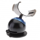 Kinston Unique Adjustable Suction Cup Holder Stand for IPHONE + More - Black + Blue
