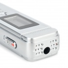 "J-807 1.1"" LCD USB Digital Voice Recorder / MP3 Player - Silver (8GB)"
