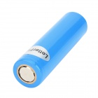 LetterFire 18650 Rechargeable 3.7V 1400mAh Li-ion Batteries - Blue (2 PCS)