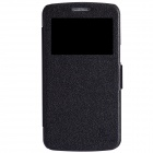NILLKIN Protective PU Leather + PC Case Cover for Samsung Galaxy Grand 2 G7106 - Black