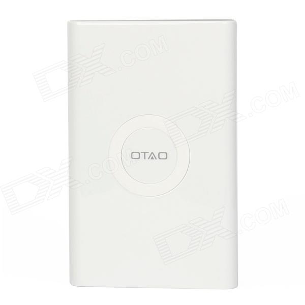 OTAO 7000mAh Wireless Power Bank + Wireless charge récepteur pour Samsung Galaxy Note 3 - blanc