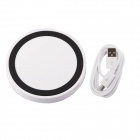 T2 Mini QI Wireless Charger Pad for LG E960 Google Nexus 4 2G Nokia Lumia 920 - White + Black