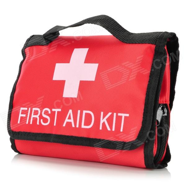 Muxincamp MXJ-042 Convenient Portable Outdoor First Aid Package - Red + Black