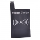 T2 sem fio Charger Pad + Wireless Charger Receiver para Samsung Galaxy S4 / i9500 - Branco + Preto