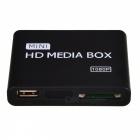 MP013-F10 Mini 1080P Full HD Player w/ HDMI / SD / USB + Remote Control - Black + White