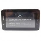 "GT500 3.0"" LCD 3.0 MP CMOS 170° FHD 1080P Car DVR w/ GPS / G-sensor / Night Vision / Park - Black"