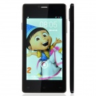 "P9 Android 4.2 WCDMA Dual-core Bar Phone w/ 5.0"" IPS, GPS, Wi-Fi and Dual Cameras - Black"