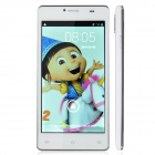 "P9 Android 4.2 WCDMA Dual-core Bar Phone w/ 5.0"" IPS, GPS, Wi-Fi and Dual Cameras - White"