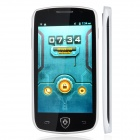 "A599 Android 4.2 Dual-core WCDMA Bar Phone w/ 4.0"" IPS, GPS, Wi-Fi - White"