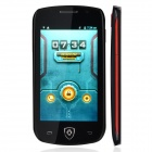 "A599 Android 4.2 Dual-core WCDMA Bar Phone w/ 4.0"" IPS, GPS, Wi-Fi, Bluetooth - Black"