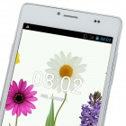 "4.2.2 WCDMA Bar DVG P9 MTK6572 Dual-Core Android Phone w / 5.0 ""IPS, FM, 4 Go de ROM, GPS - Blanc"