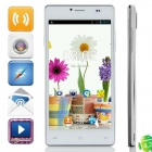 "KVD P9 MTK6572 Dual-Core Android 4.2.2 WCDMA Bar Phone w/ 5.0"" IPS, FM, 4GB ROM, GPS - White"