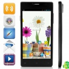 "KVD P9 MTK6572 Dual-Core Android 4.2.2 WCDMA Bar Phone w/ 5.0"" IPS,  Wi-Fi, 4GB ROM, GPS - Black"